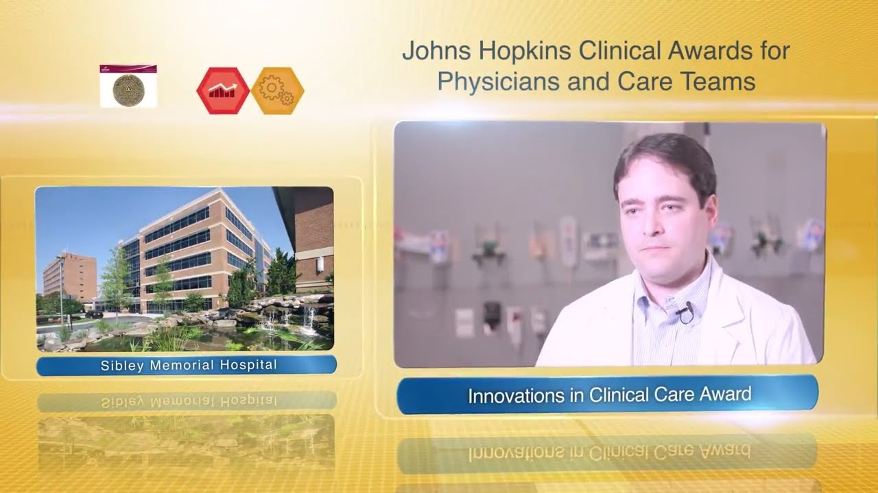 2017 Innovations in Clinical Care Award – Miguel Agrait Gonzalez, M.D., Sibley Memorial Hospital - YouTube