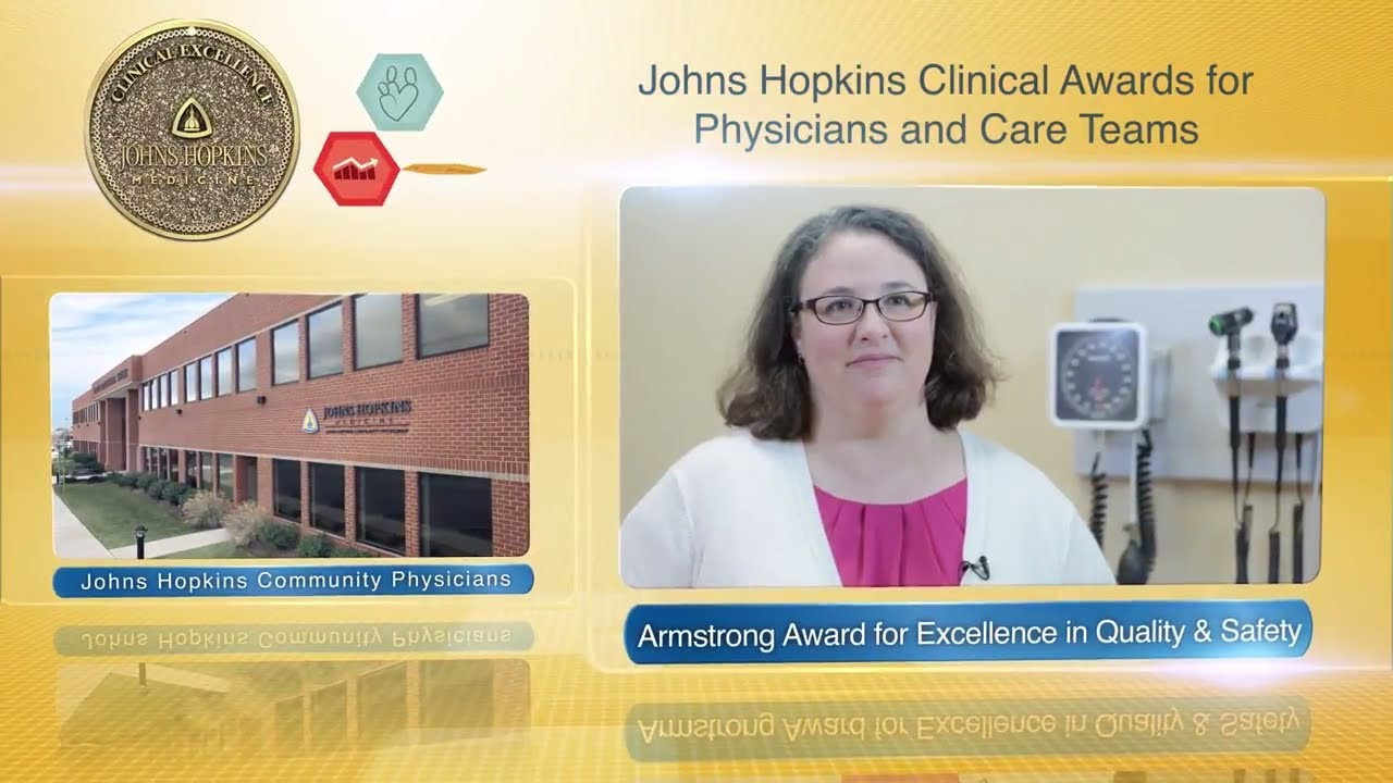 2017 Armstrong Award for Excellence in Quality and Safety – Susan Schrock, M.D., JHCP - YouTube