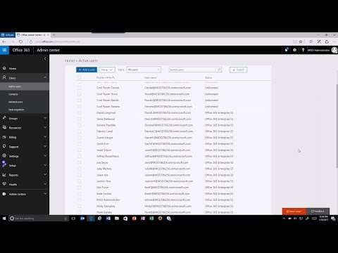 What's new in Office 365 management: Usage reporting, change management and service health - YouTube