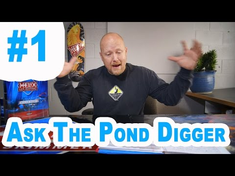 Pond Skimmer , Fish , Construction - Ask T.P.D. Show #1
