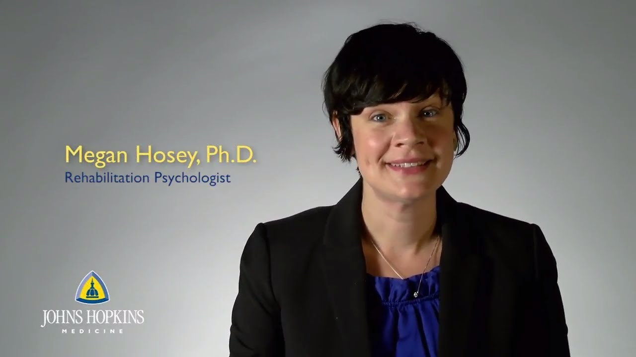 Dr. Megan Hosey | Rehabilitation Psychology - YouTube