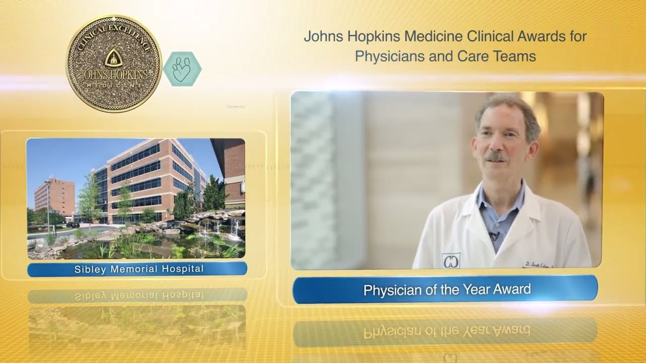2017 Physician of the Year – Scott Cohen, M.D., Sibley Memorial Hospital - YouTube