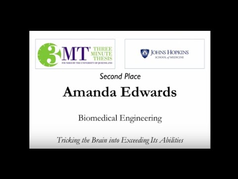 Three Minute Thesis Finals: Second Place Winner | Johns Hopkins Medicine - YouTube