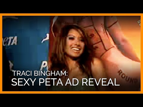 YouTube - Traci Bingham's Sexy Ad Reveal