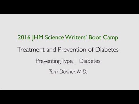 Preventing Type 1 Diabetes | Tom Donner - YouTube