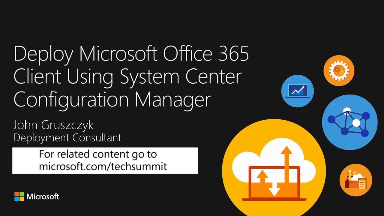 Deploy and manage Microsoft Office 365 ProPlus using Configuration manager - YouTube