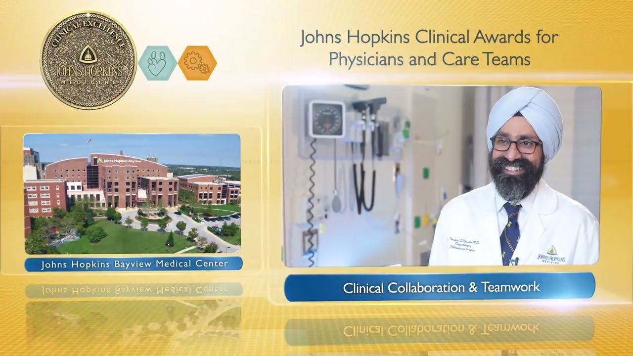 2017 Clinical Collaboration and Teamwork Award – Harpal Khanuja, M.D. & Total Joint Rep. Team, JHBMC - YouTube