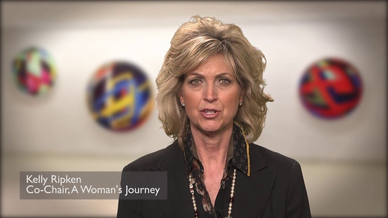 Kelly Ripken Co-Chair for A Woman's Journey - YouTube