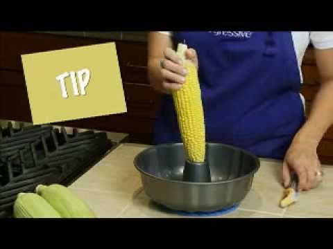 Cooking Demo for the Corn Stripper from Progressive International - YouTube