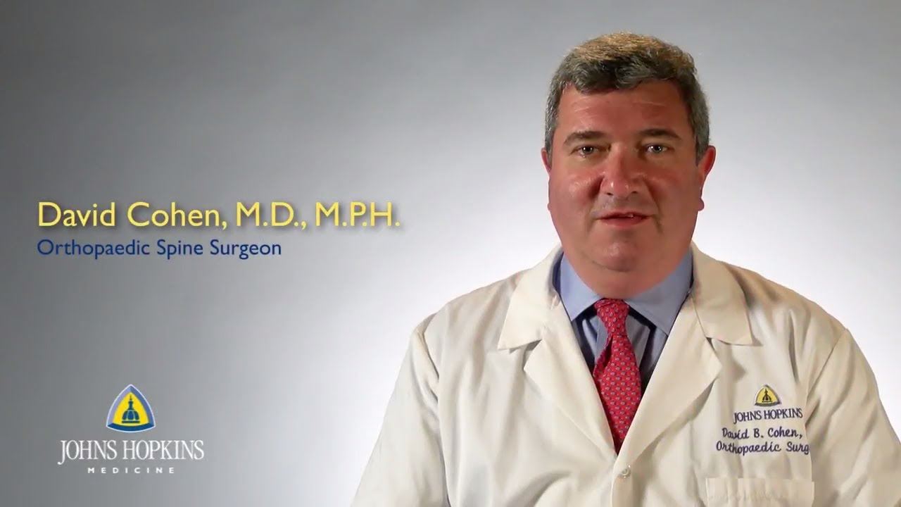 Dr. David Cohen | Orthopaedic Surgeon - YouTube