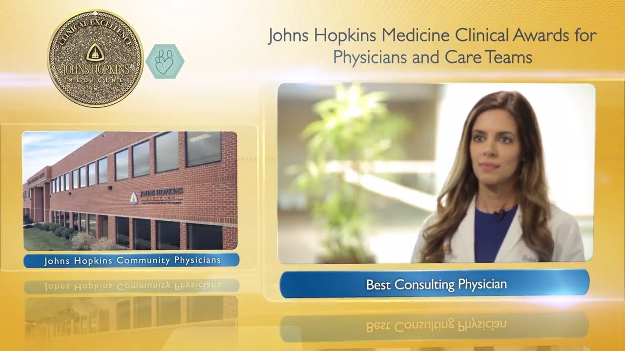 2017 Best Consulting Physician at Johns Hopkins Community Physicians – Shabina Ahmed, M.D. - YouTube