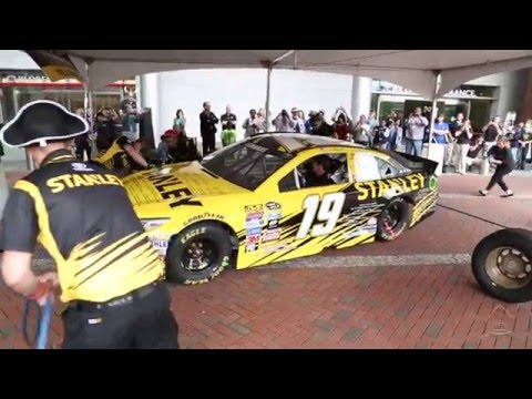"""Racing for a Miracle"" Makes a Pit Stop at Johns Hopkins Children's Center - YouTube"