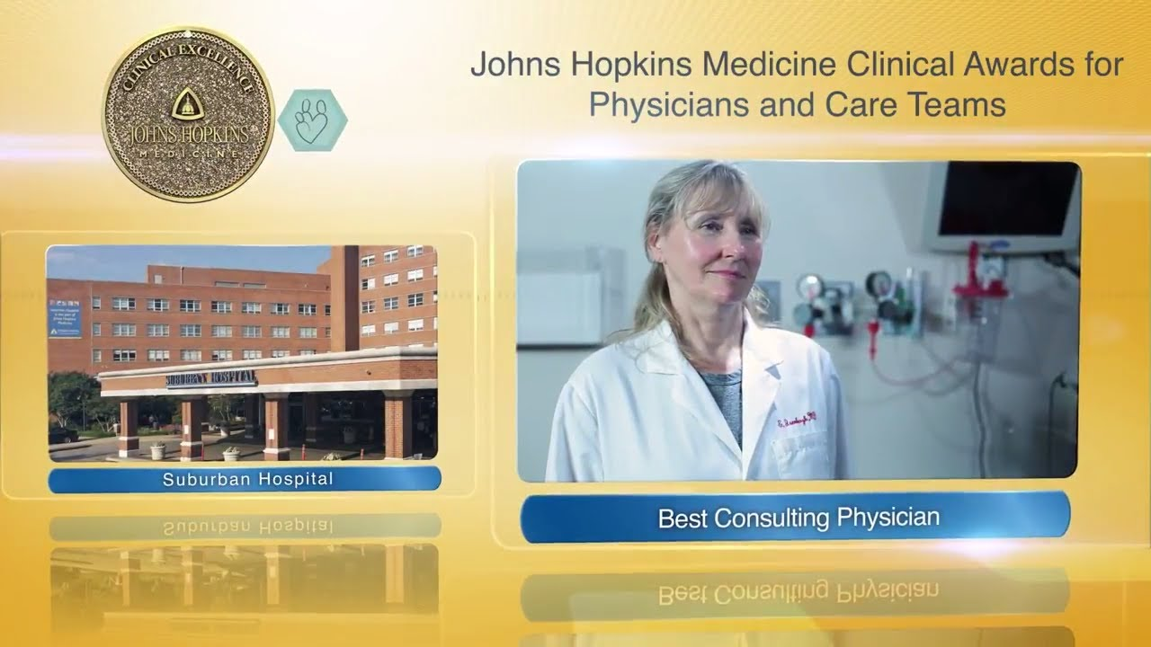 2017 Best Consulting Physician at Suburban Hospital – Elena Isenbergh, M.D. - YouTube