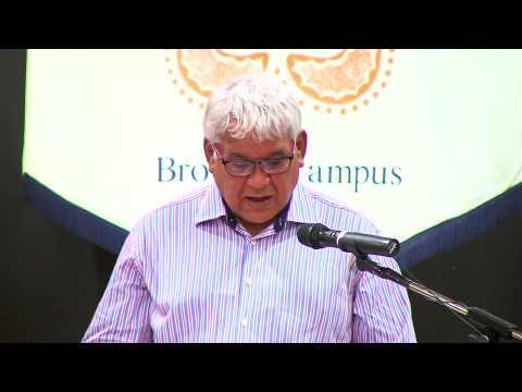 Nulungu Reconciliation Lecture: Commissioner Mick Gooda