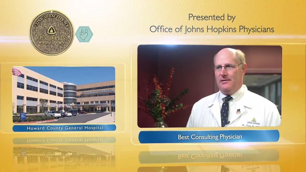 2017 Best Consulting Physician at Howard County General Hospital – Eric Aldrich, M.D., Ph.D., - YouTube
