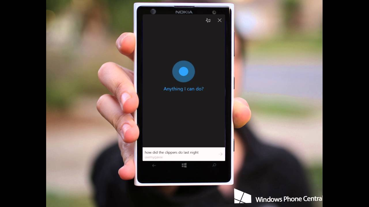 AudioBurst: Microsoft's Cortana Demo - YouTube