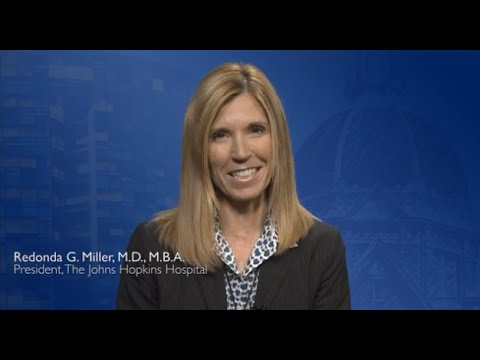 Message from Redonda G. Miller, M.D., M.B.A., The New Johns Hopkins Hospital President - YouTube