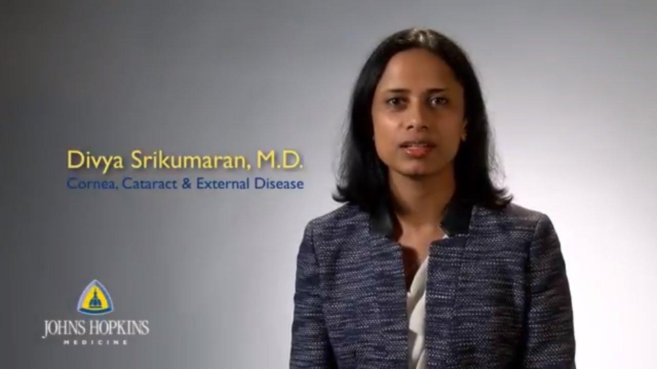 Dr. Divya Srikumaran | Cornea and Cataract Specialist - YouTube