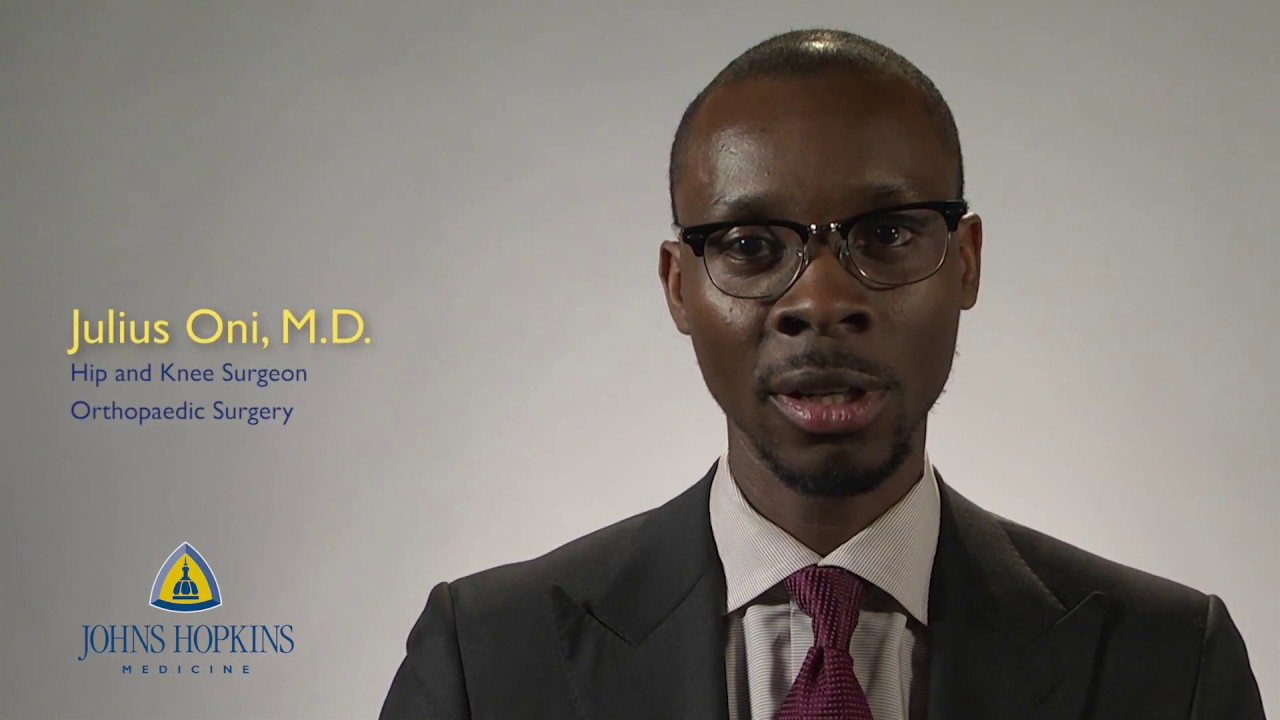 Dr. Julius Oni | Hip and Knee Surgery - YouTube
