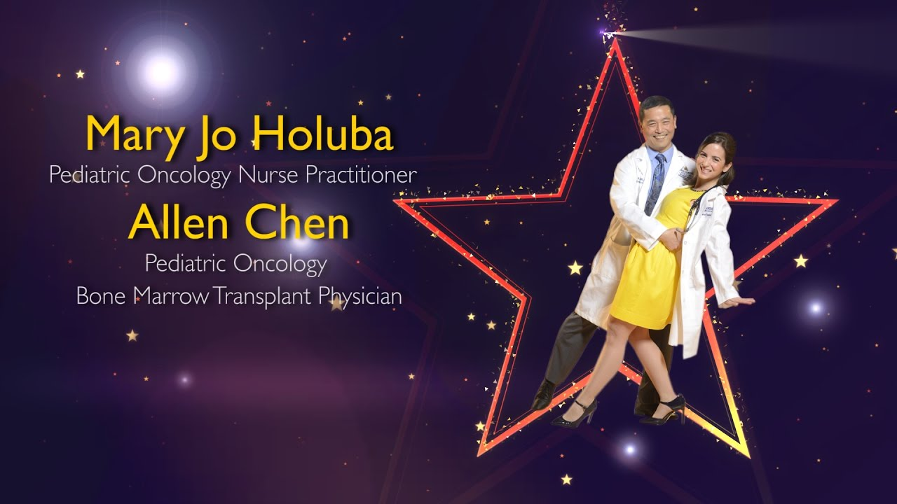 Mary Jo Holuba and Allen Chen, Dancing for The Ulman Cancer Fund - YouTube