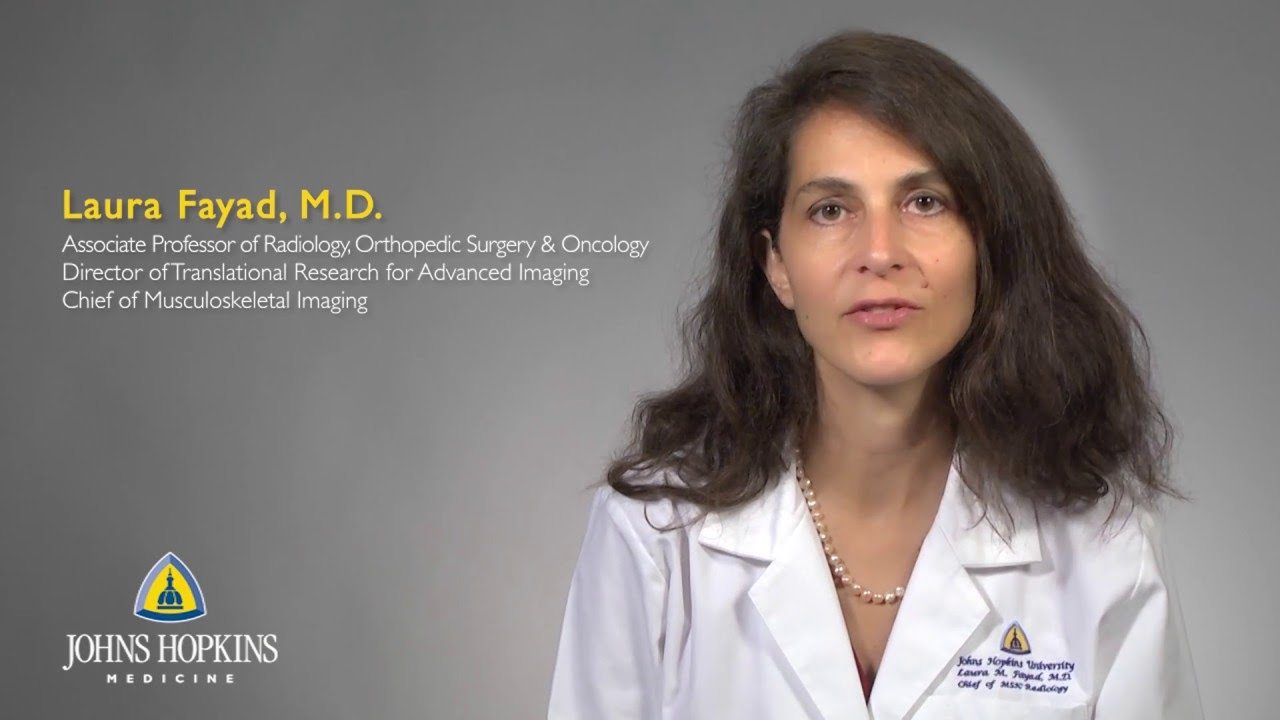 Dr. Laura Fayad   Chief of Musculoskeletal Imaging - YouTube