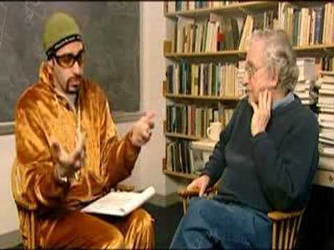 YouTube - ali g interviews noam chomsky