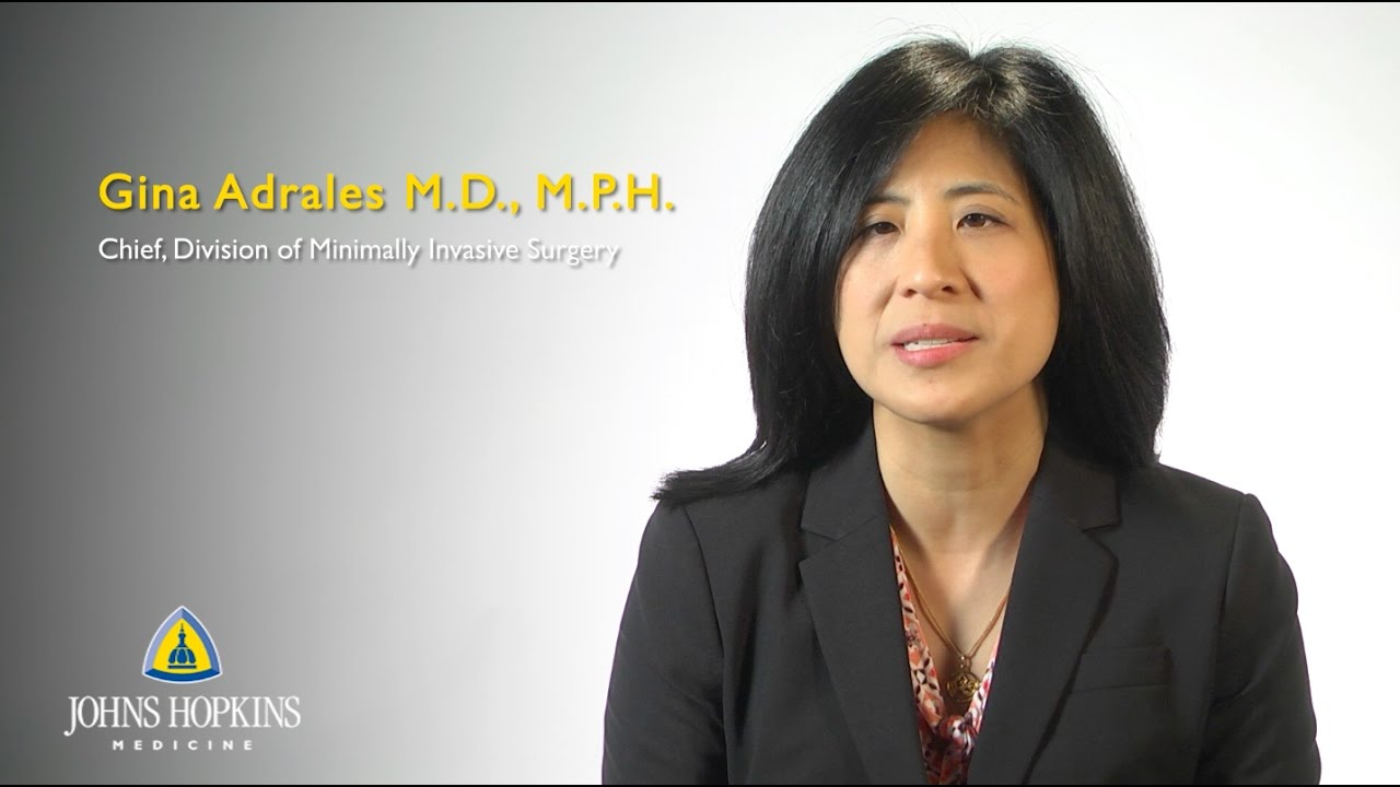 Dr. Gina Adrales | Minimally Invasive Surgeon - YouTube