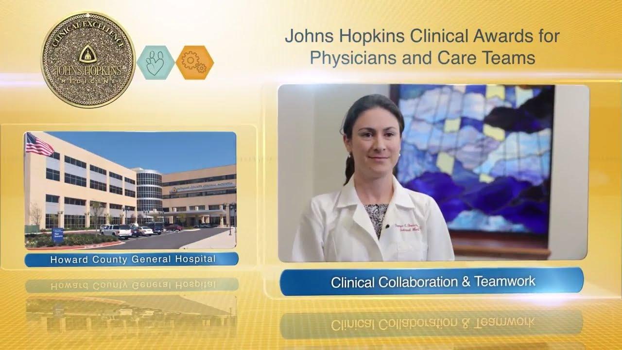 2017 Clinical Collaboration and Teamwork Award – Tanya Brescia-Oddo, M.D., Palliative Care Team-HCGH - YouTube