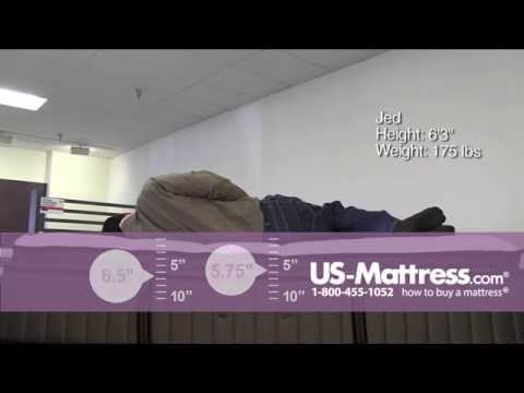 Stearns & Foster Lux Estate Point Vincent Plush Euro Pillowtop Mattress Comfort Depth with Jed