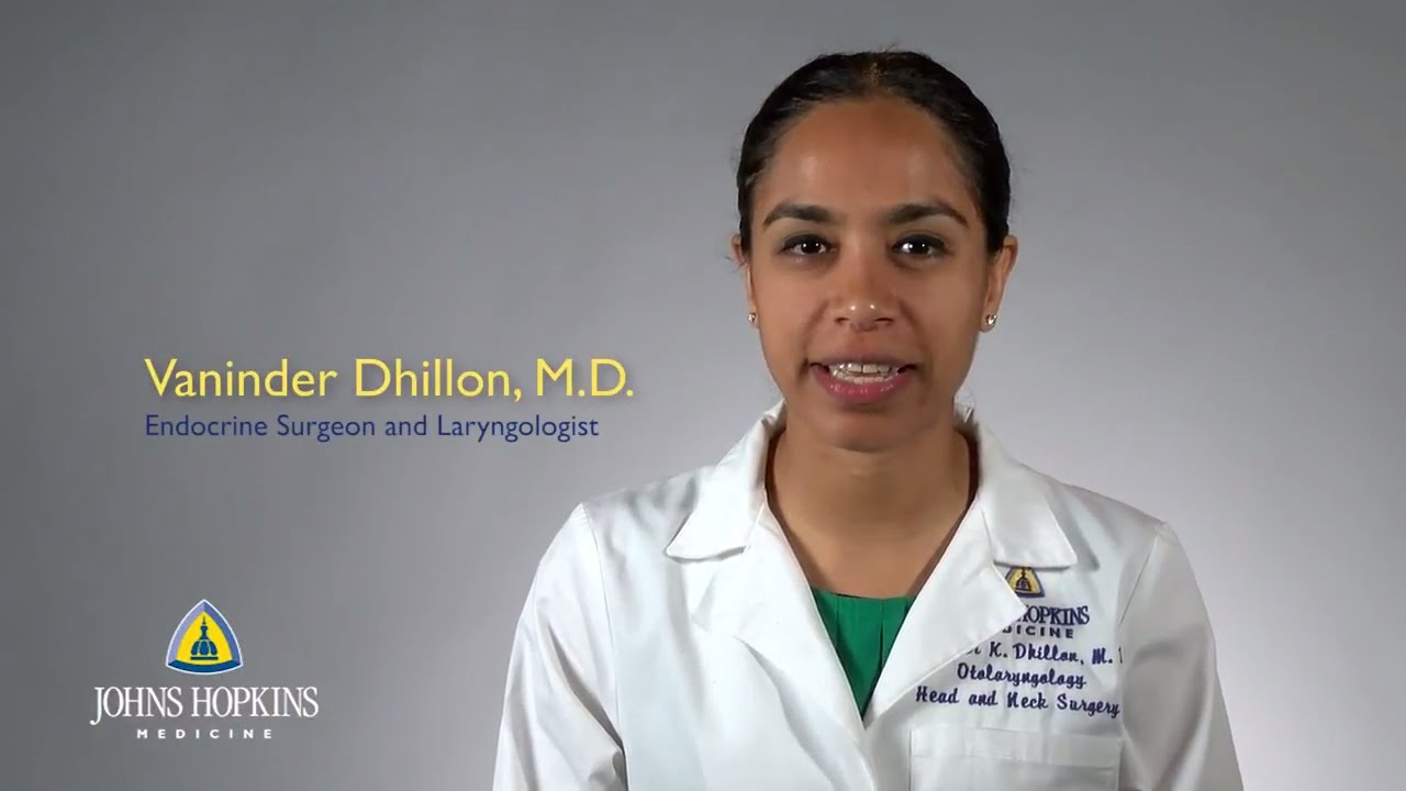Vaninder (Vinny) Dhillon, M.D. │ Endocrine Surgeon and Laryngologist - YouTube