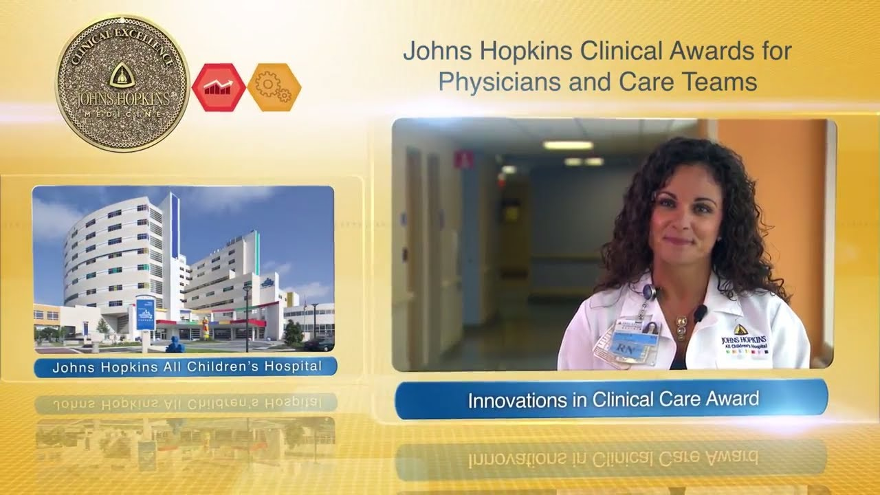 2017 Innovations in Clinical Care Award – Amanda McCollom, R.N. & 8th floor Pediatric Med Team—JHACH - YouTube