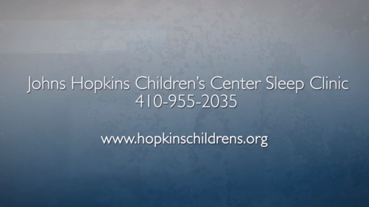 Pediatric Sleep Center | What to Expect - YouTube