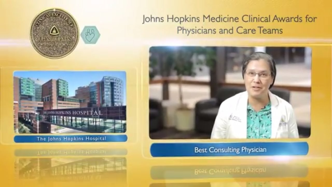2017 Best Consulting Physician at the Johns Hopkins Hospital – Robin Avery, M.D. - YouTube