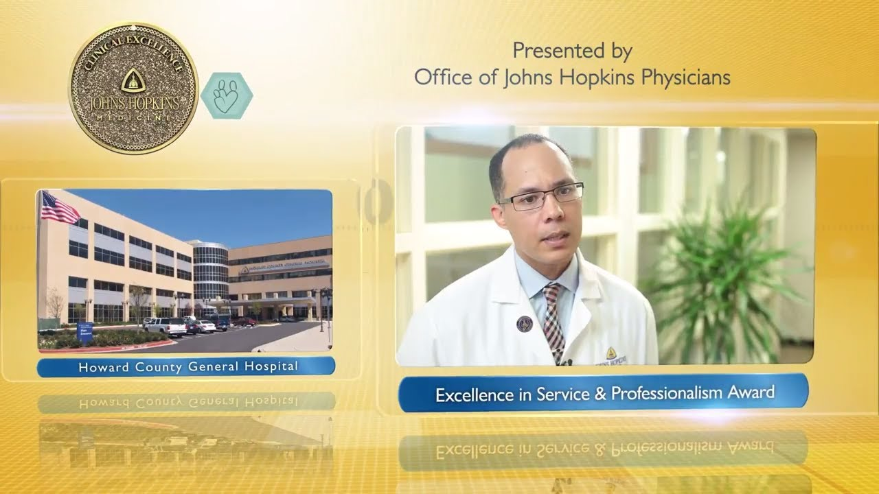 2017 Excellence in Service and Professionalism Award – James Harris, Jr., M.D., HCGH - YouTube
