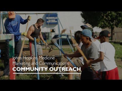 Community Outreach Program | Johns Hopkins Medicine Marketing & Communications - YouTube