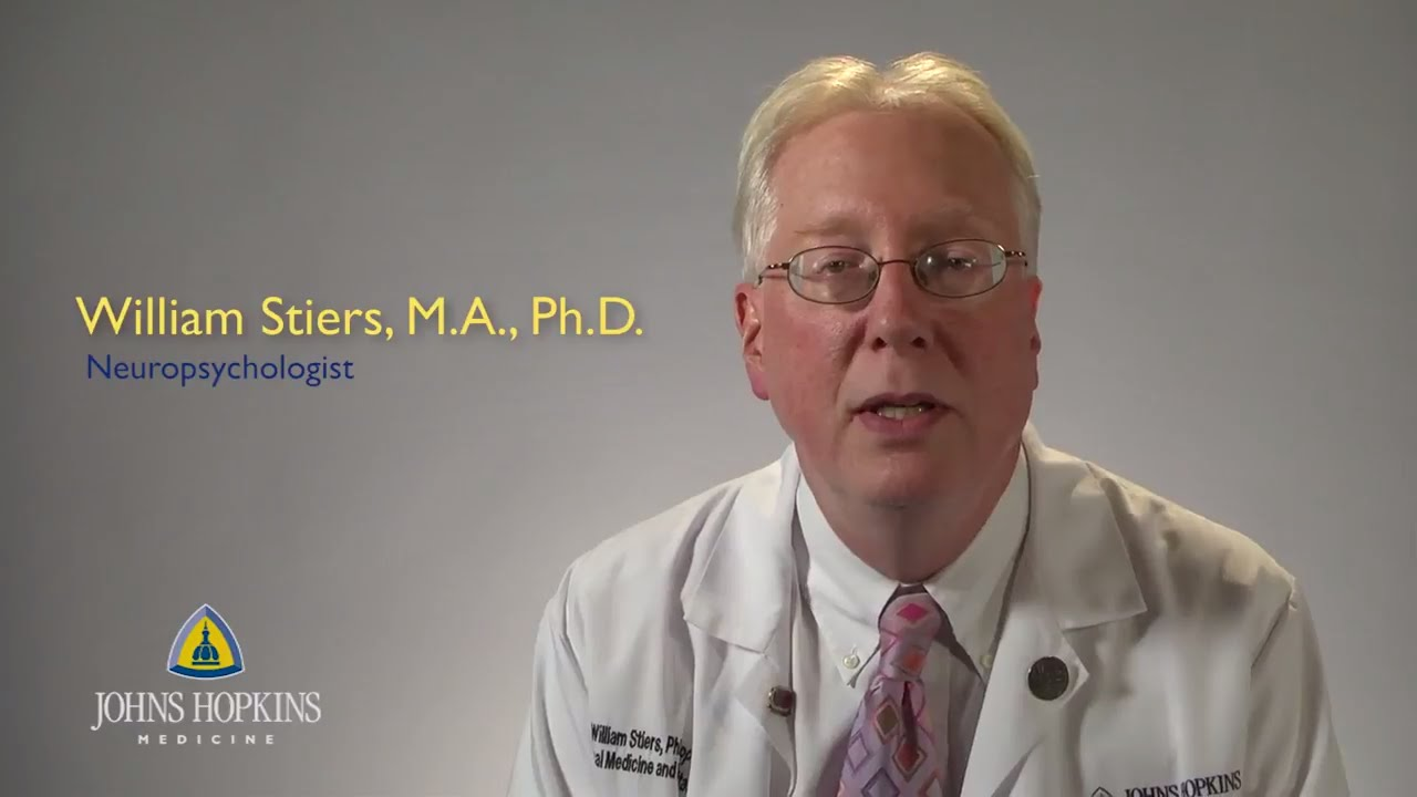 Dr. William Stiers | Neuropsychology - YouTube