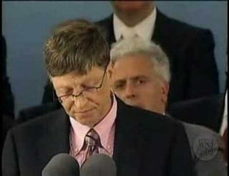 Bill Gates Speech at Harvard (part 2)