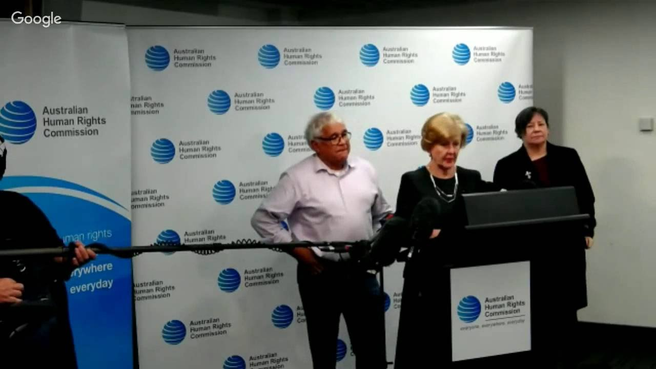 *LIVE* Media Conference on Royal Commission in NT Detention of Children - YouTube