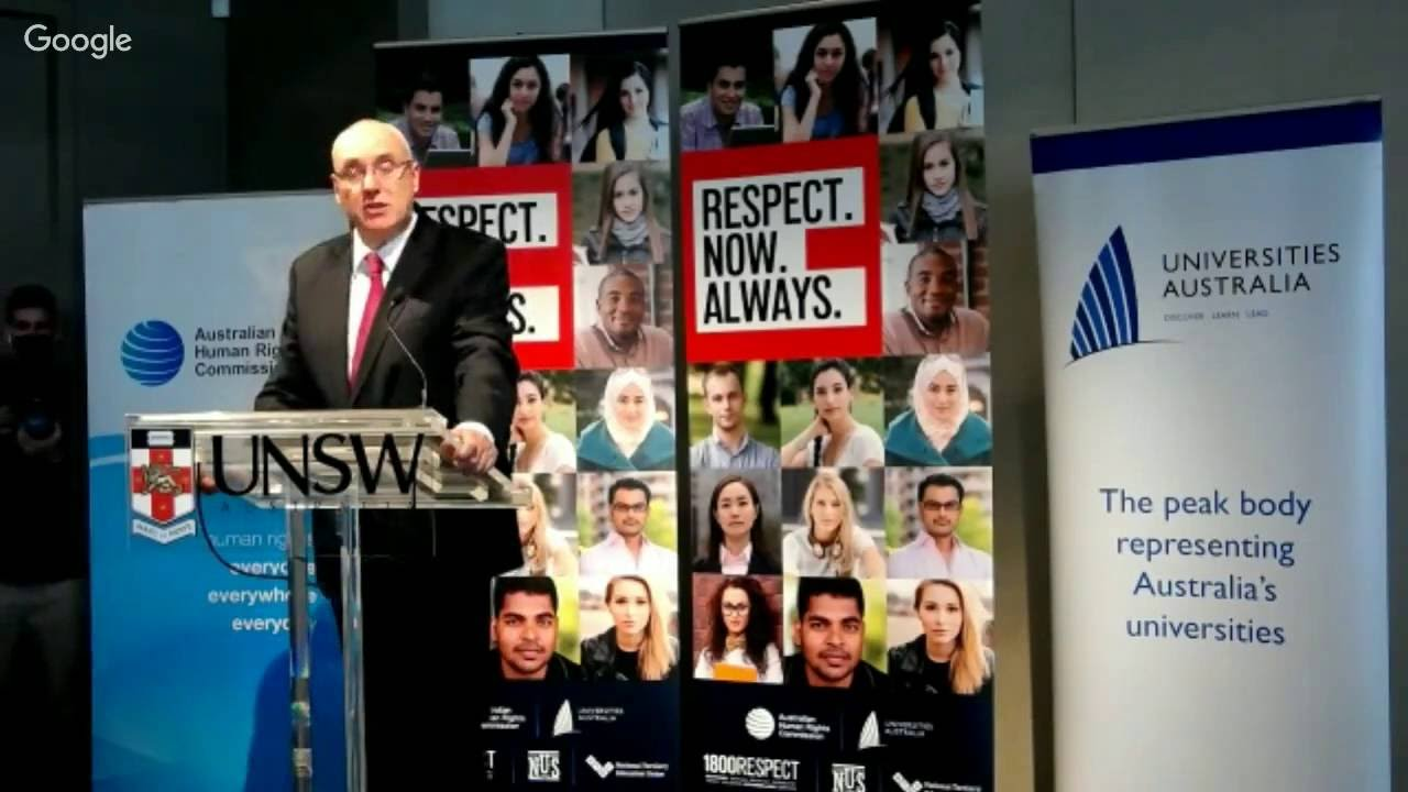 *Live* Official launch of the student survey on sexual assault and sexual harassment - YouTube