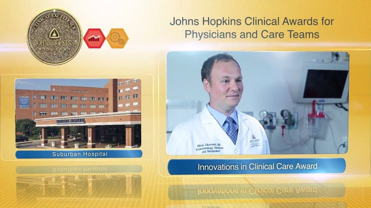 2017 Innovations in Clinical Care Award – Mihail Zilbermint, M.D., Suburban Hospital - YouTube