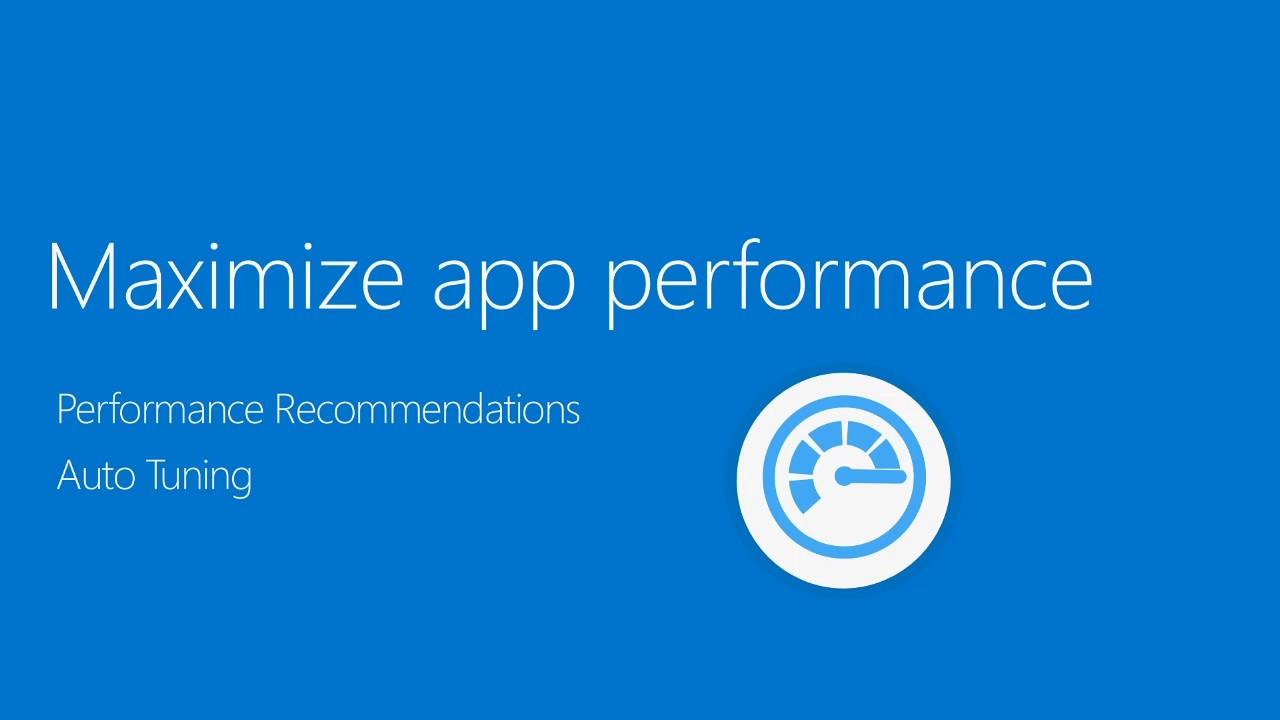 Azure SQL Database – A Managed Intelligent Cloud Database for App Developers - YouTube