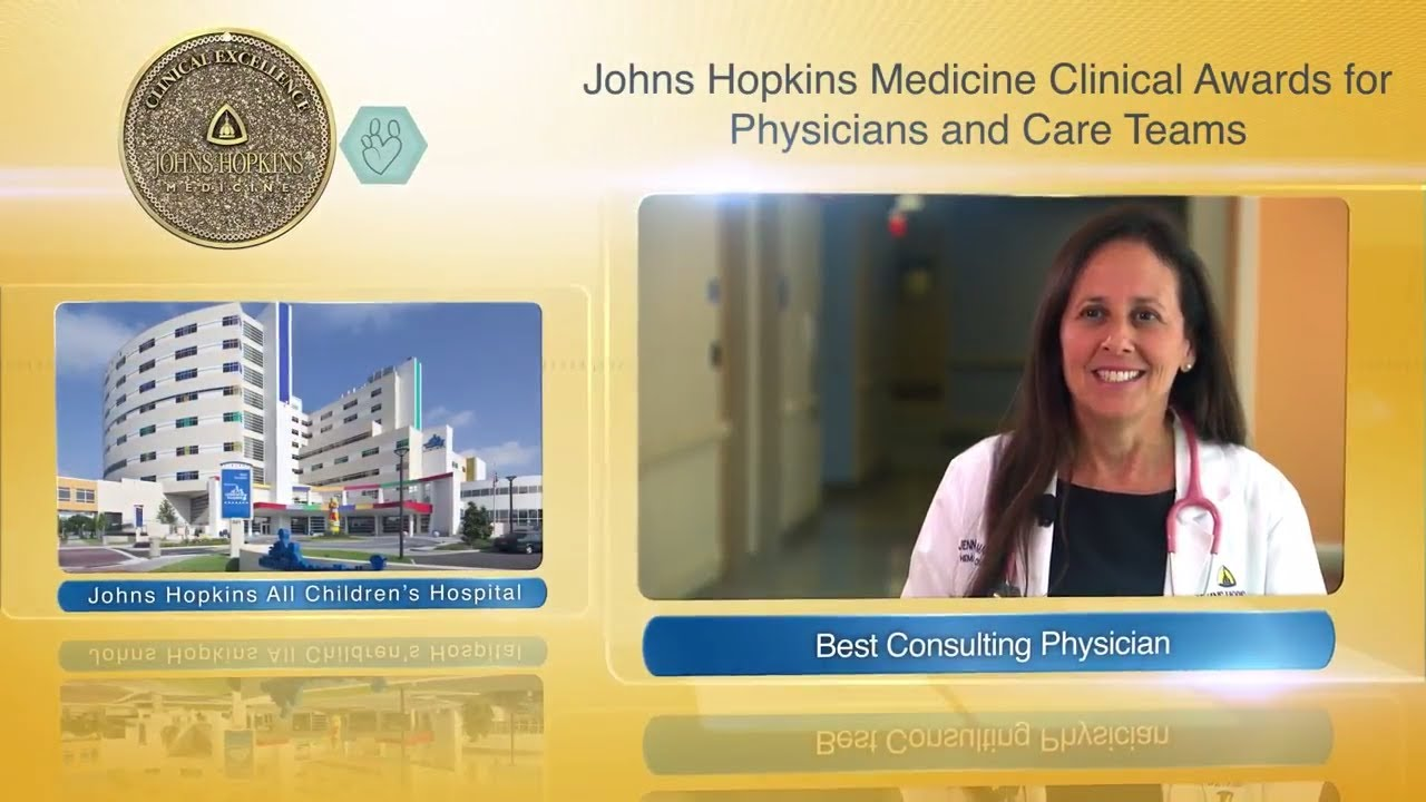 2017 Best Consulting Physician at Johns Hopkins All Children's Hospital – Jennifer Mayer, M.D. - YouTube