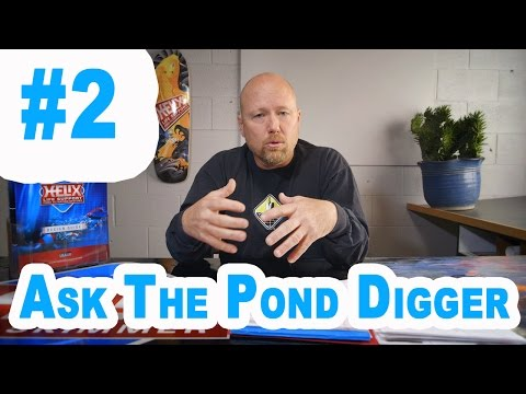 Ion generators, Bottom Drains, Fish Friendly Pond skimmers - Ask T.P.D. Show #2