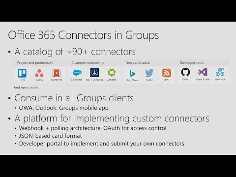 Let your apps and services take a front seat in Outlook with Actionable Messages - YouTube