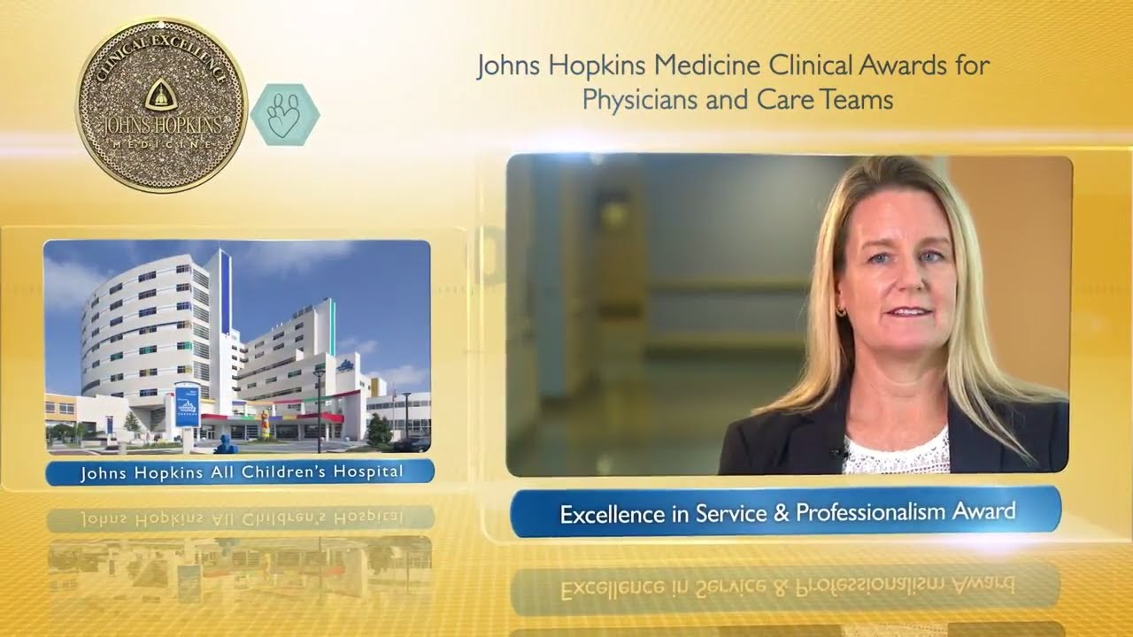 2017 Excellence in Service and Professionalism Award – Stacey Stone, M.D., JHACH - YouTube