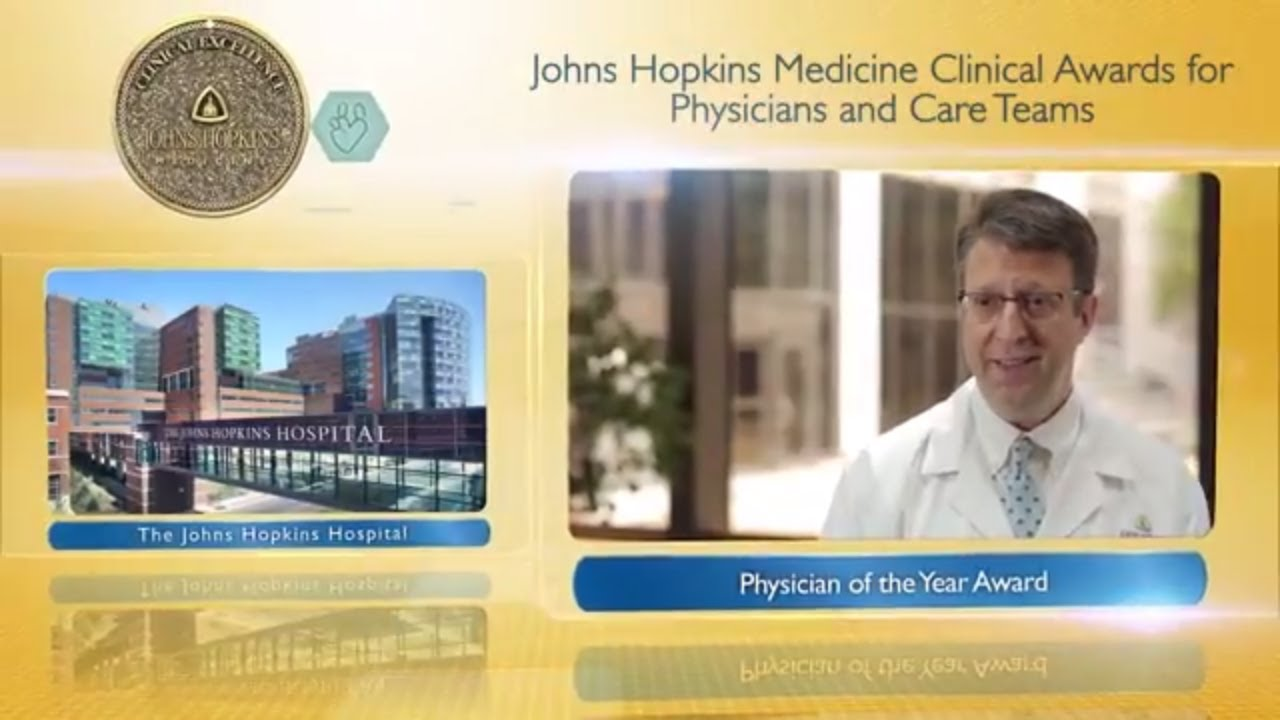 2017 Physician of the Year – David Efron, M.D., The Johns Hopkins Hospital - YouTube