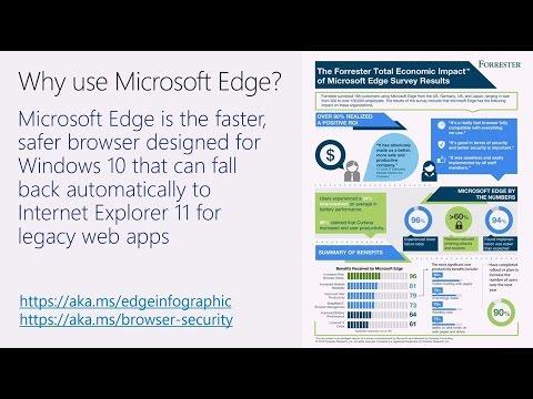 Fix web app compatibility with Enterprise Mode - YouTube