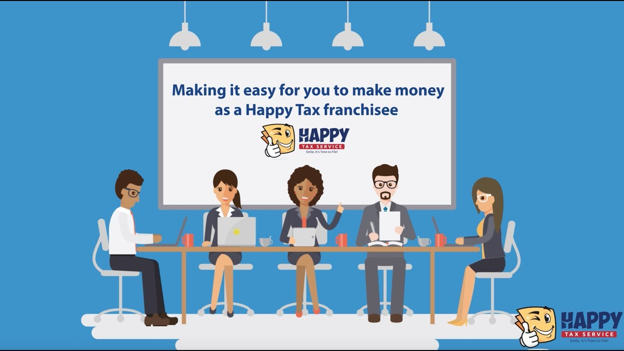 How To Be a Happy Tax Franchisee - YouTube