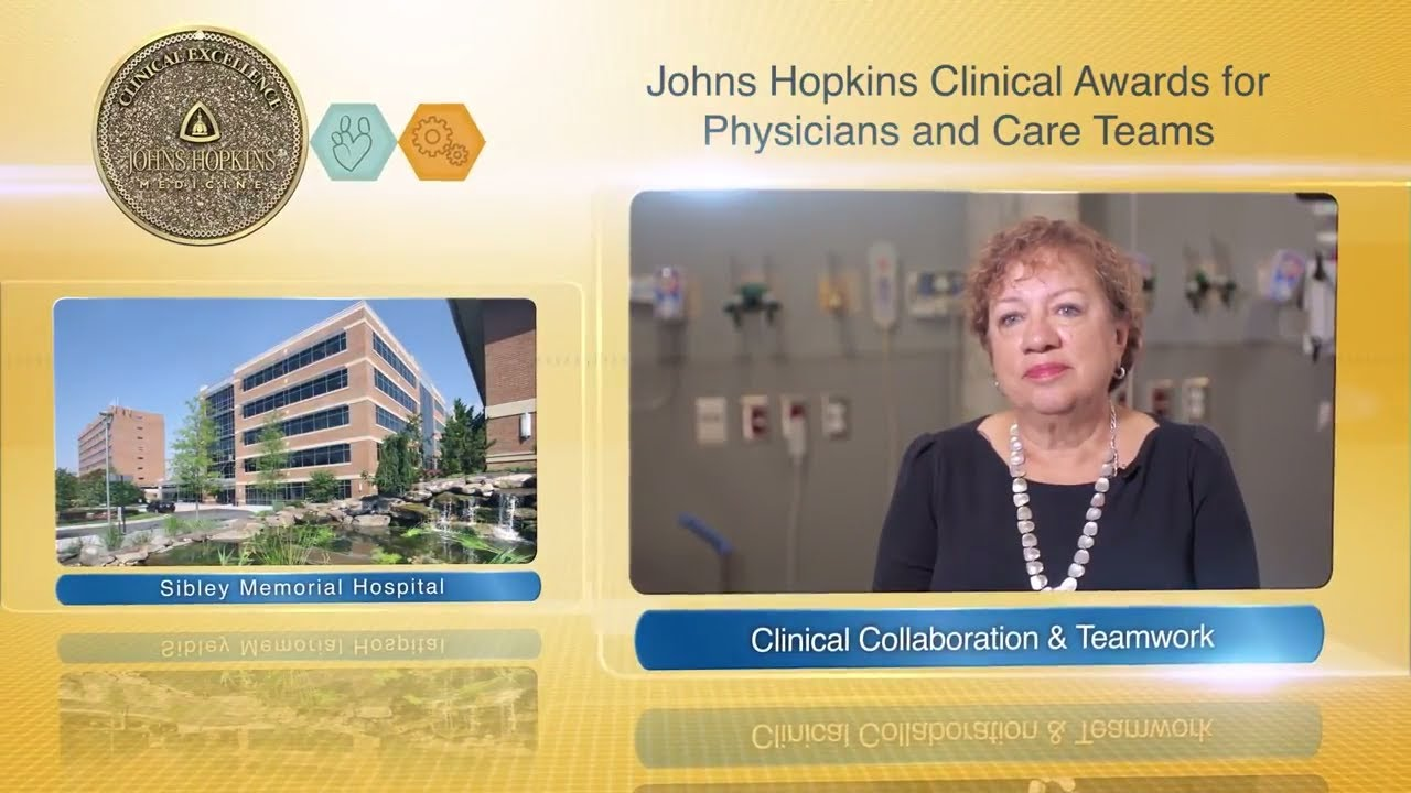 2017 Clinical Collaboration and Teamwork Award – Dianne McCarthy & the Rehabilitation Services Team - YouTube