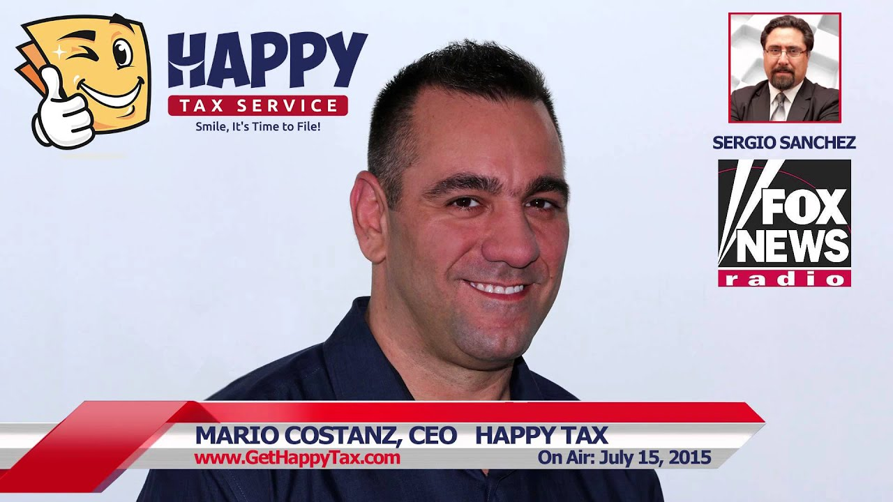 Tax CEO with Sergio Sanchez on Fox News Radio - YouTube